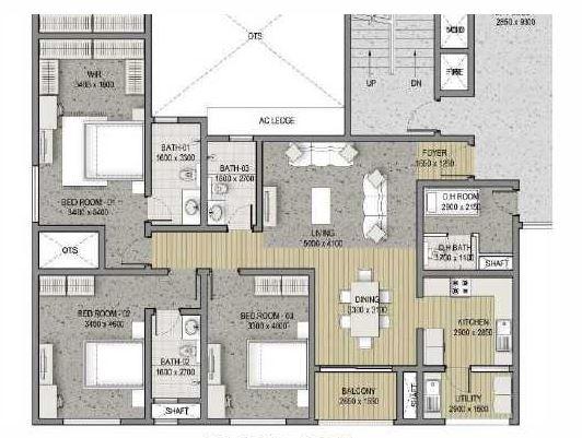 sobha pristine apartment 3bhk 1932sqft 20202201192226