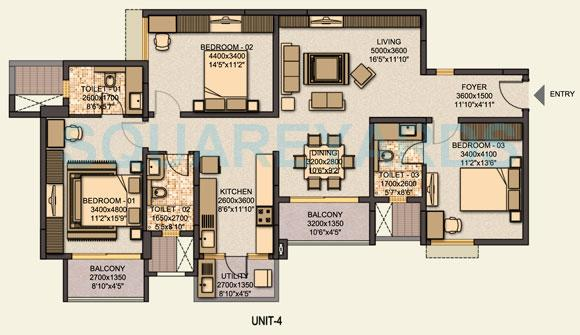 sobha sobha coral apartment 3bhk 1464sqft1
