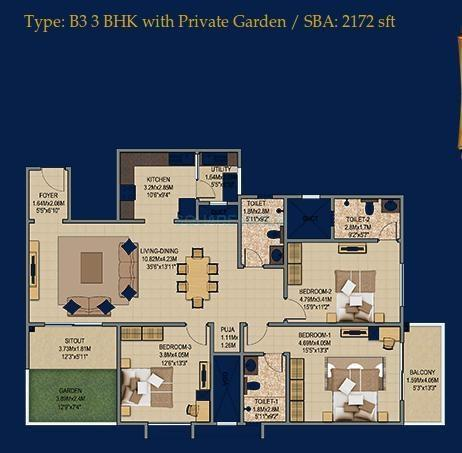 sobha sobha sunflower apartment 4bhk 2716sqft1