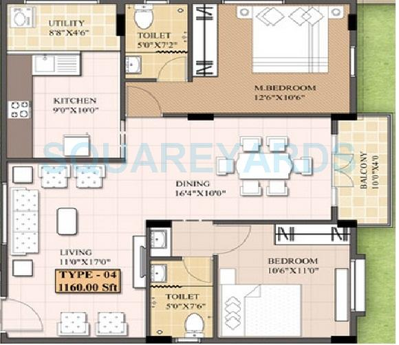 sobha windfall apartment 2bhk 899sqft1