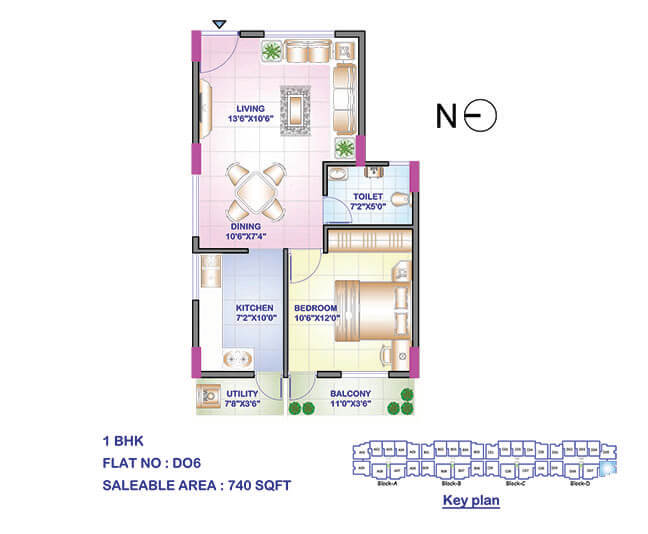 sowparnika swastika 2 apartment 1bhk 740sqft 1