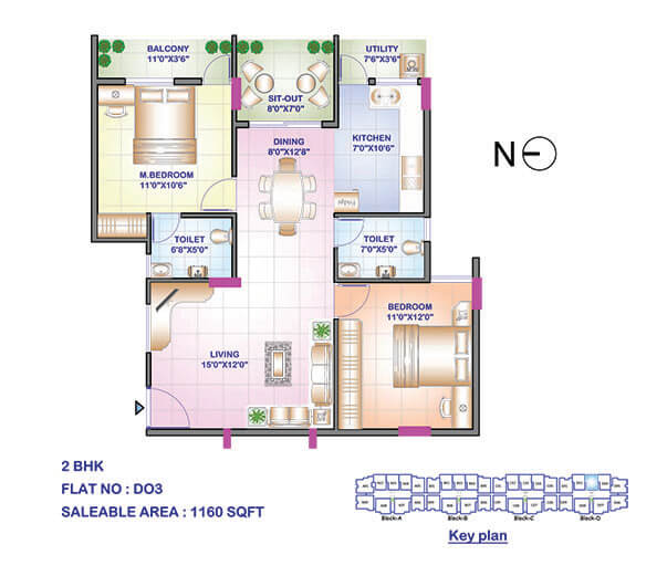 sowparnika swastika 2 apartment 2bhk 1160sqft 1