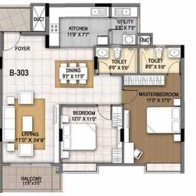 sumadhura essenza apartment 2 bhk 1275sqft 20200209130249