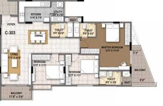 sumadhura essenza apartment 3 bhk 1580sqft 20200409130427