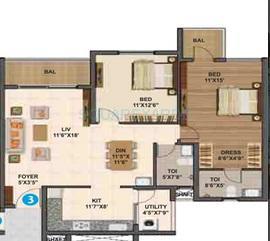 sumadhura madhuram apartment 2bhk 1340sqft1