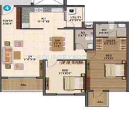 sumadhura madhuram apartment 2bhk 1370sqft1