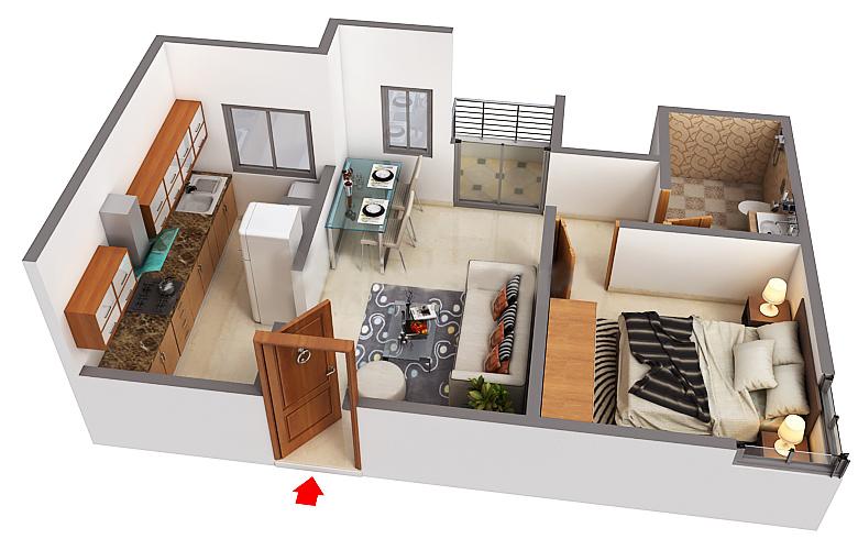 svamitva emerald square  apartment 1 bhk 621sqft 20205423175406