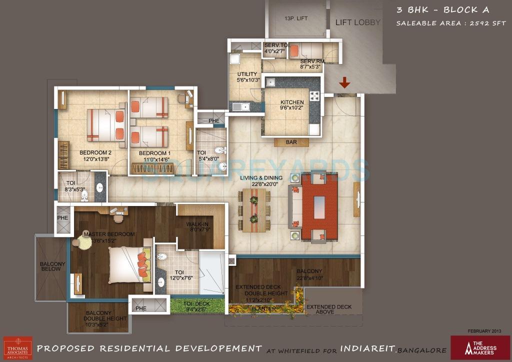 the address maker the five summits apartment 3bhk 2592sqft1