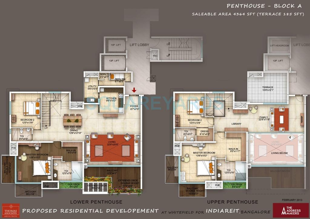 the address maker the five summits apartment 4bhk 4364sqft1