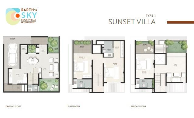 urbanx earth n sky villas villa 3 bhk 2280sqft 20204905074929
