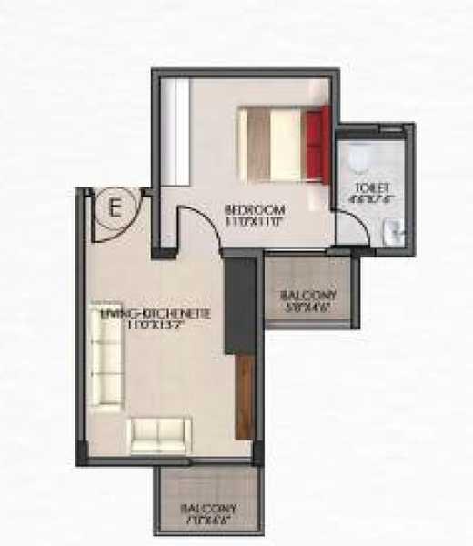 v and k northside apartment 1 bhk 502sqft 20203228133235