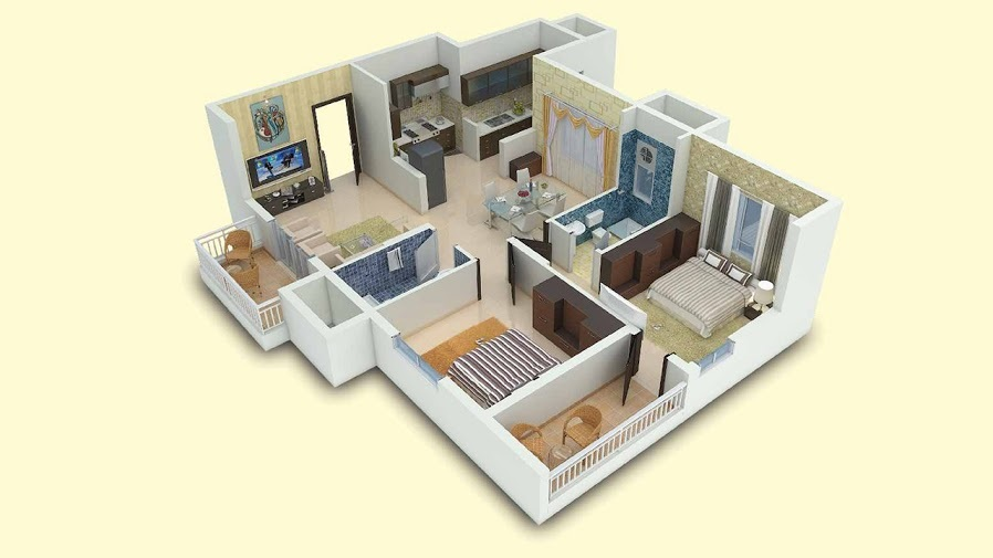 vaishnavi gardenia apartment 2bhk 1213sqft1