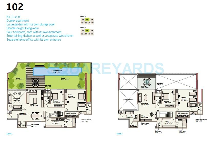 van goghs garden apartment 4bhk 6111sqft 1