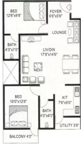 vmaks rosebay apartment 2 bhk 1099sqft 20200404110439