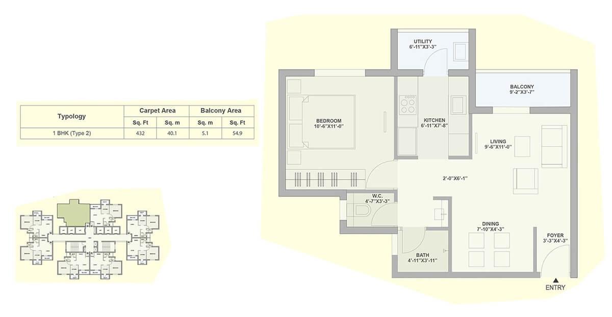 tata ariana apartment 1 bhk 482sqft 20204628114640