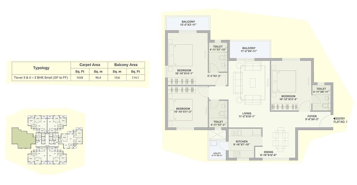tata ariana apartment 3 bhk 1152sqft 20204728114737
