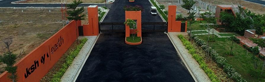akshaya earth entrance view4