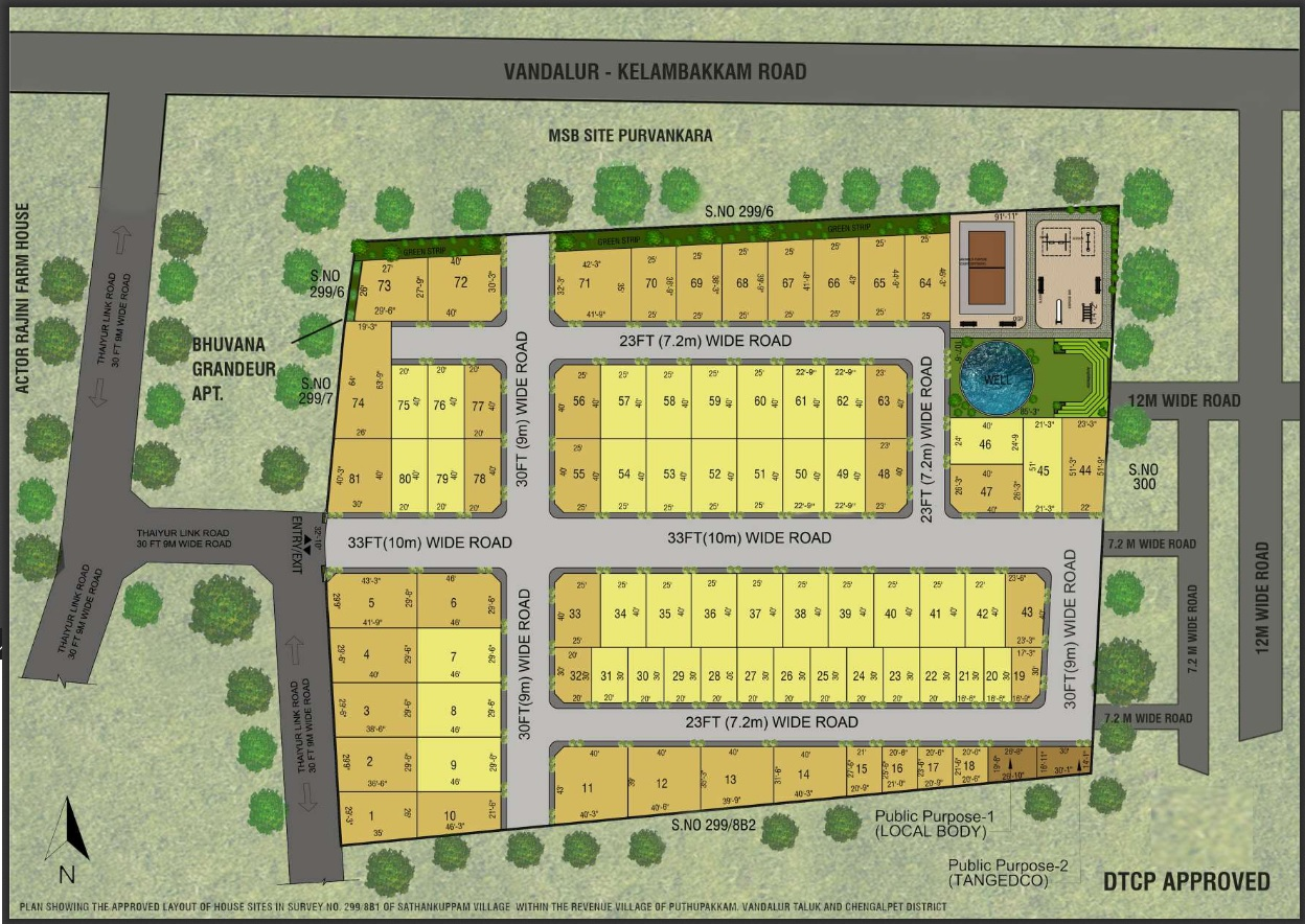 anand greenfield avenue project master plan image1