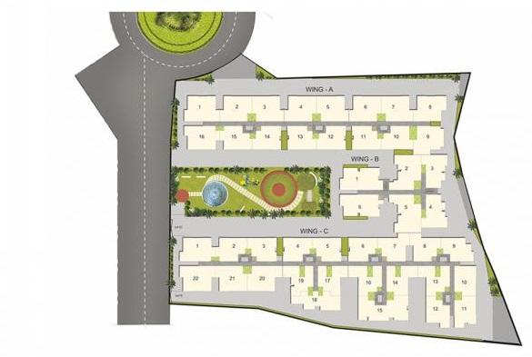 arun excello estancia mini project master plan image1