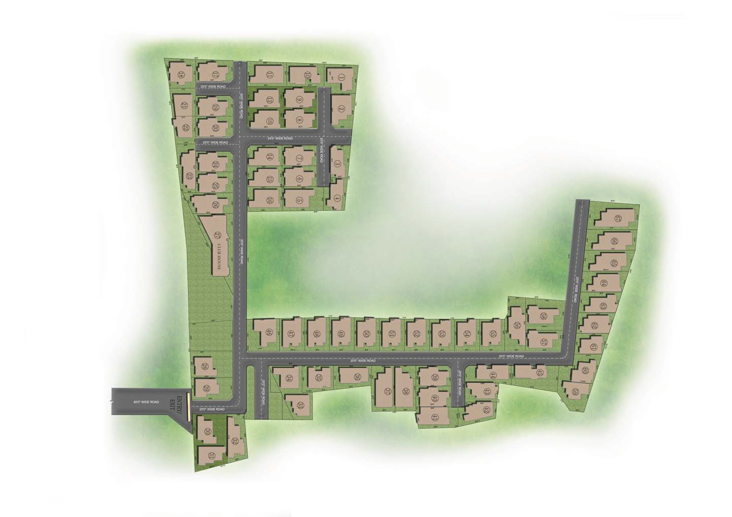 casagrand avalon master plan image5