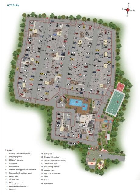 casagrand castle project master plan image1