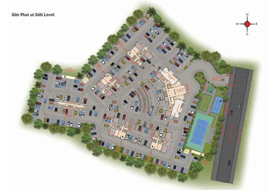 casagrand crescendo master plan image1