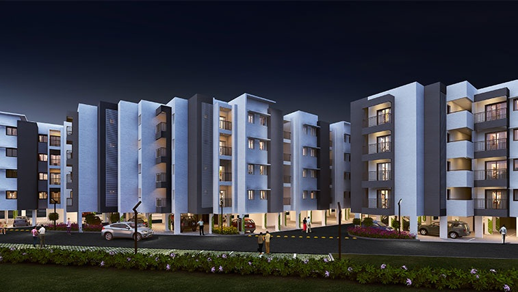 casagrand sereno project tower view2