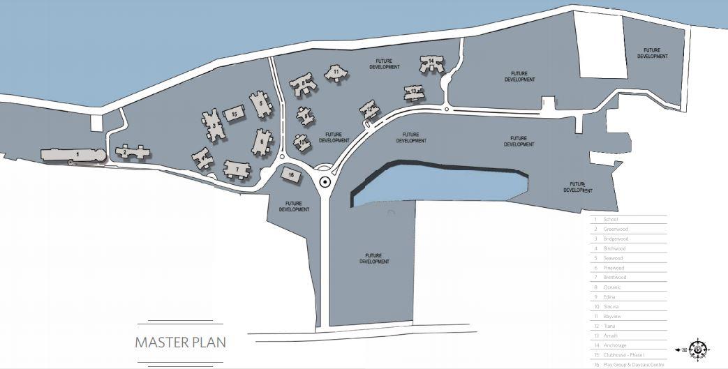 hiranandani greenwood project master plan image1