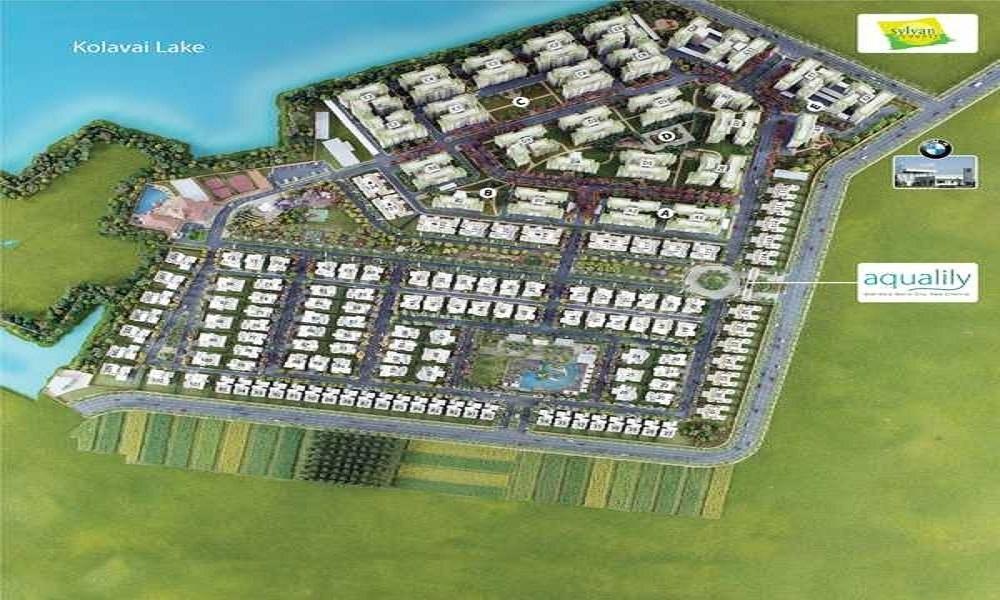 mahindra lifespaces aqualily villa project master plan image1