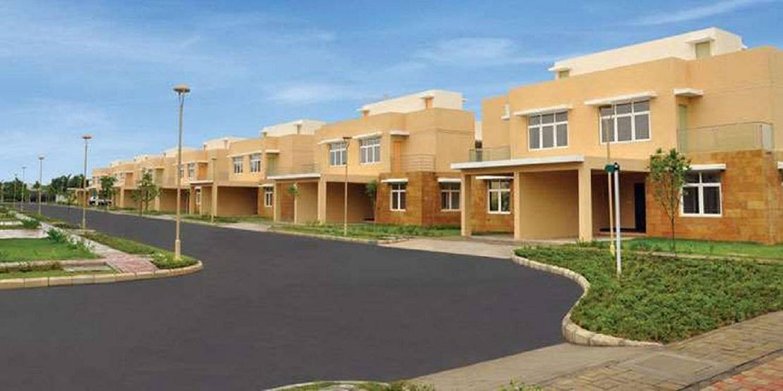 mahindra lifespaces aqualily villa project tower view1