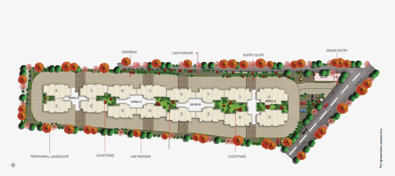 puravankara purva somerset house master plan image1