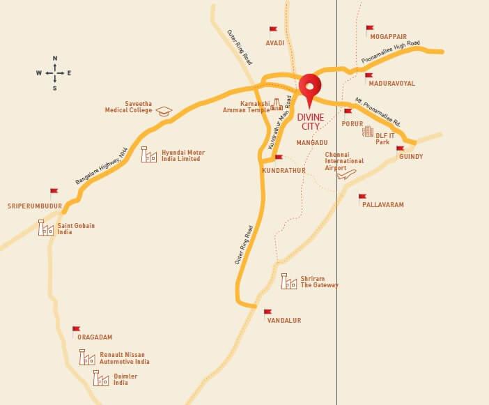 shriram divine city code kovil location image1