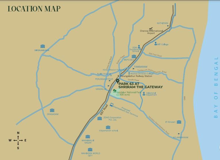 shriram park 63 project location image1