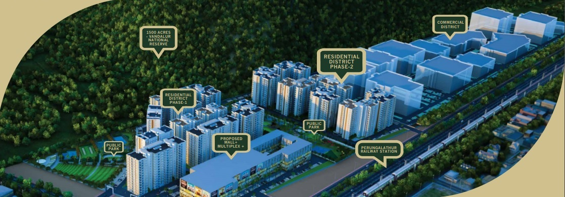 shriram park 63 project tower view1