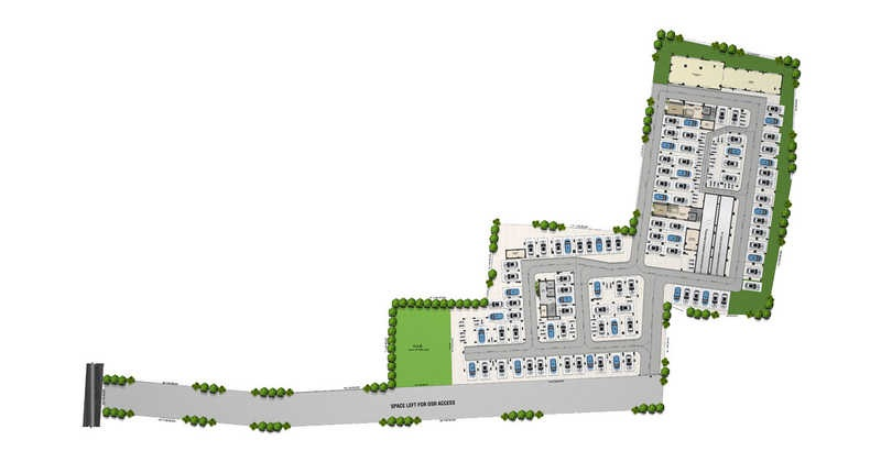 sristi millennium project master plan image1