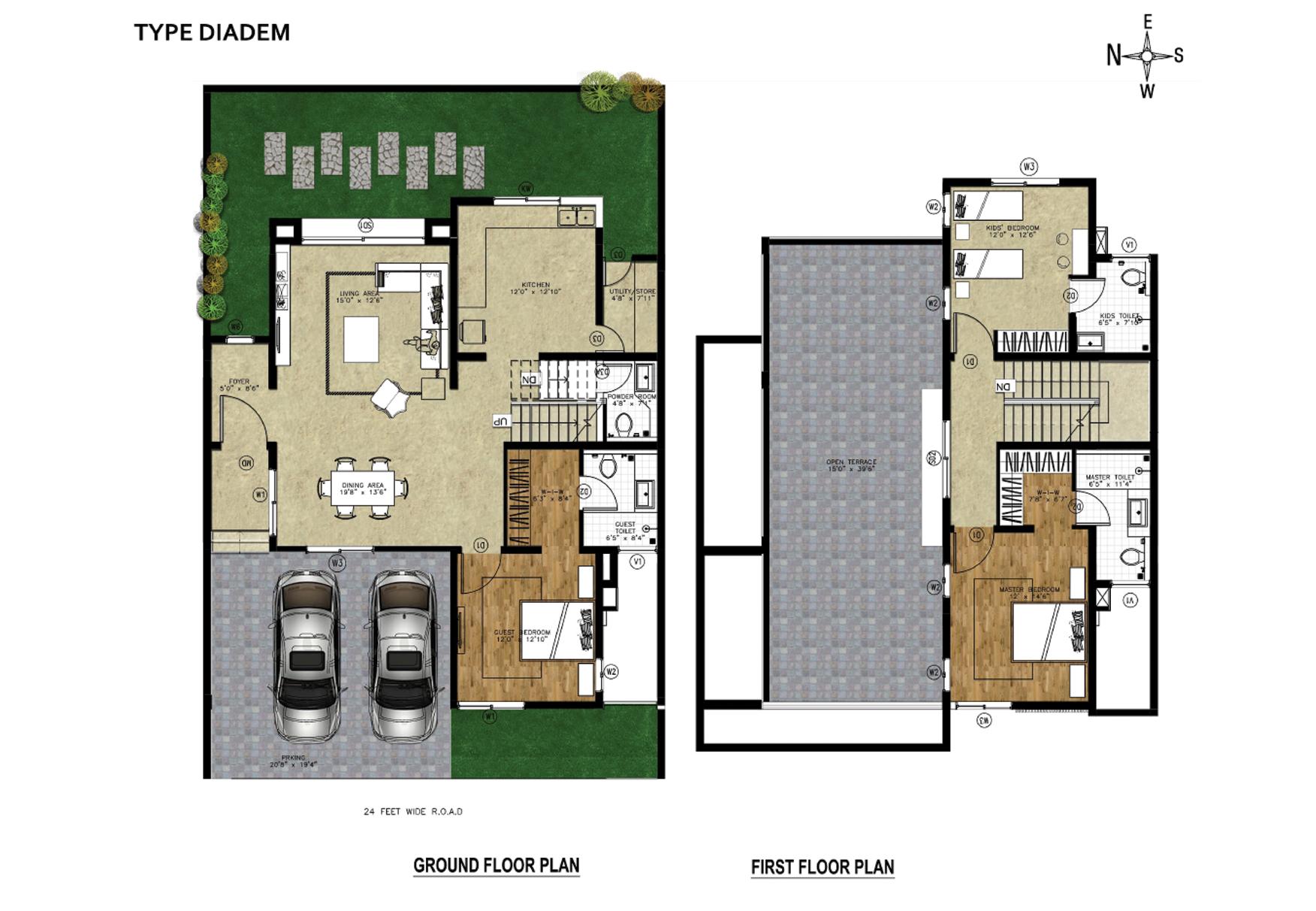 arthaone world villas villa 3bhk 2700sqft 1