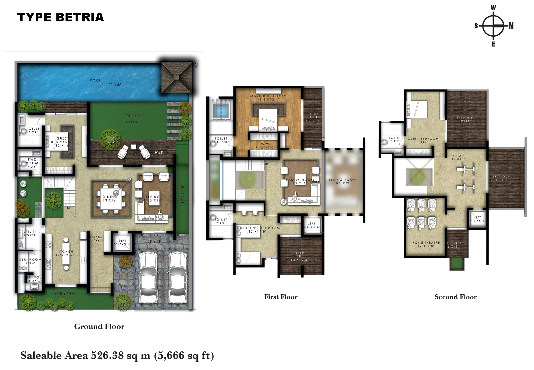 arthaone world villas villa 4bhk sq 5666sqft 1