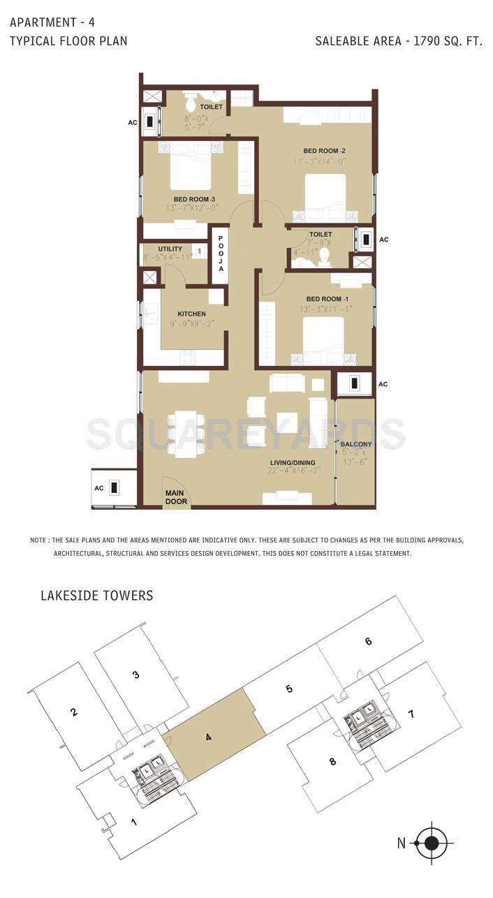 arun excello estancia apartment 3bhk 1790sqft1