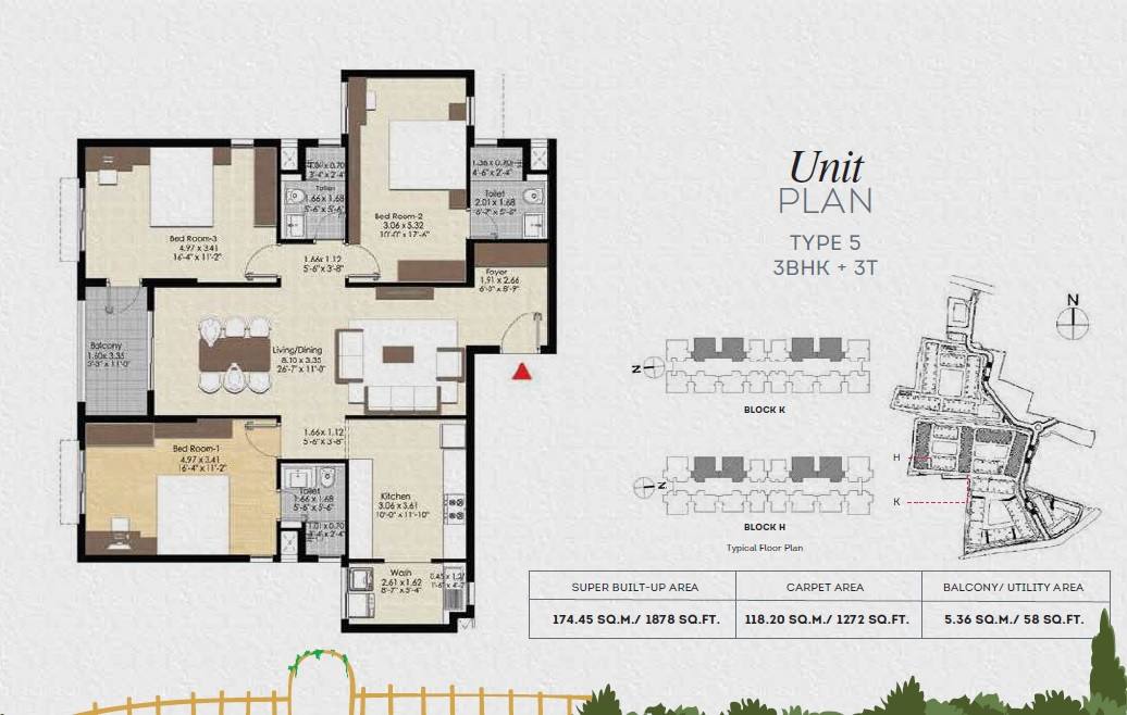 brigade bonito apartment 3bhk 1272sqft41