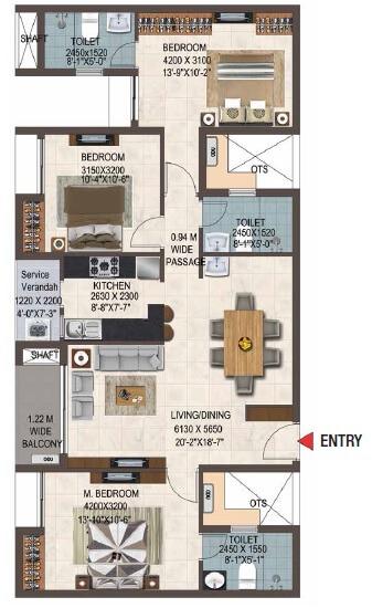 casagrand savoye apartment 3bhk 1517sqft 1