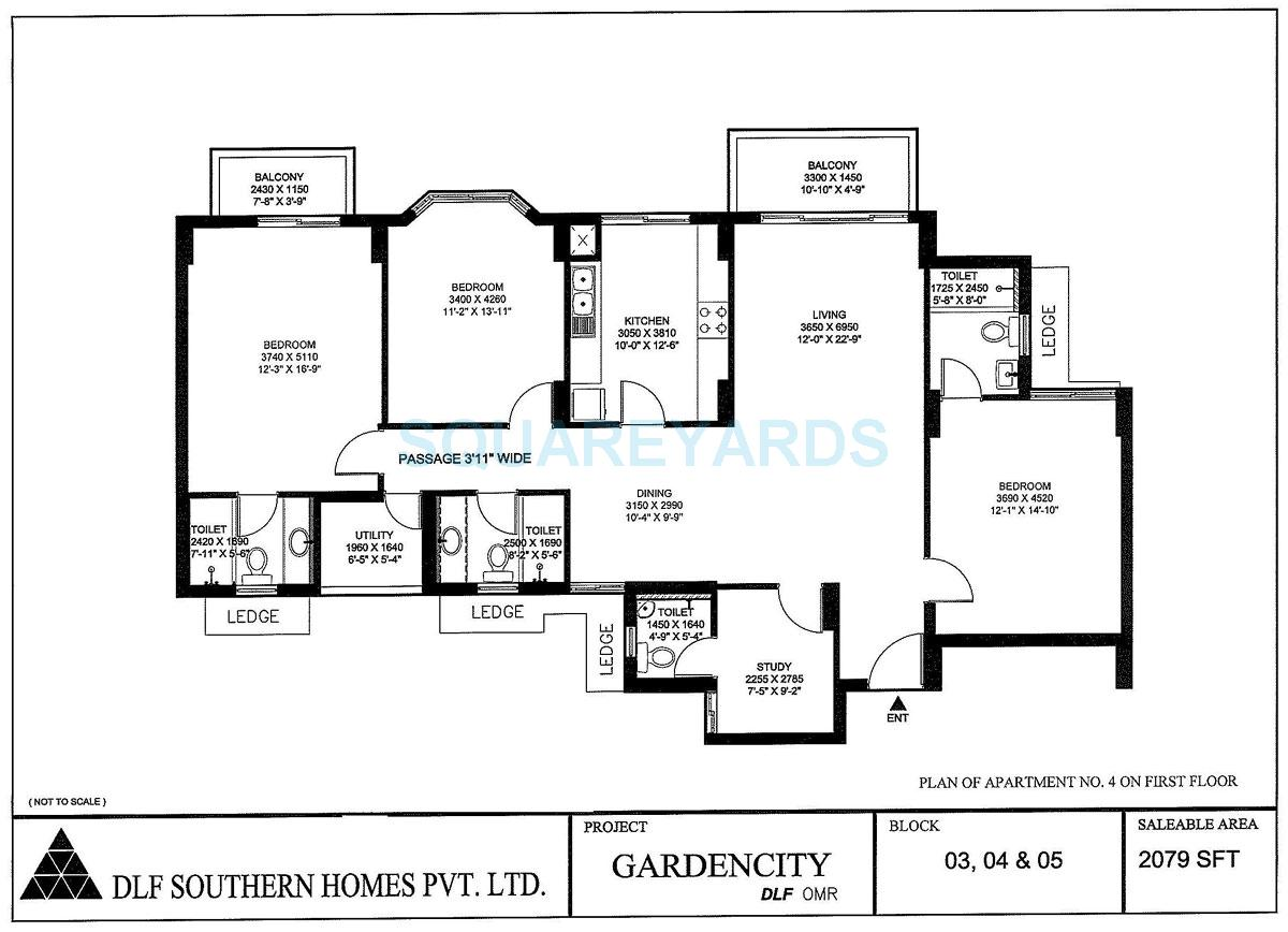 dlf gardencity apartment 3bhk 2079sqft1