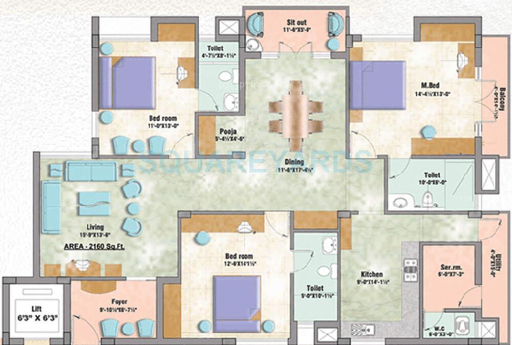 doshi llanstephan apartment 3bhk 2160sqft1