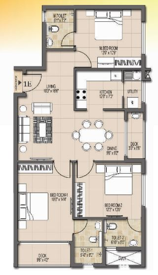 dugar ashwa apartment 2bhk 963sqft11