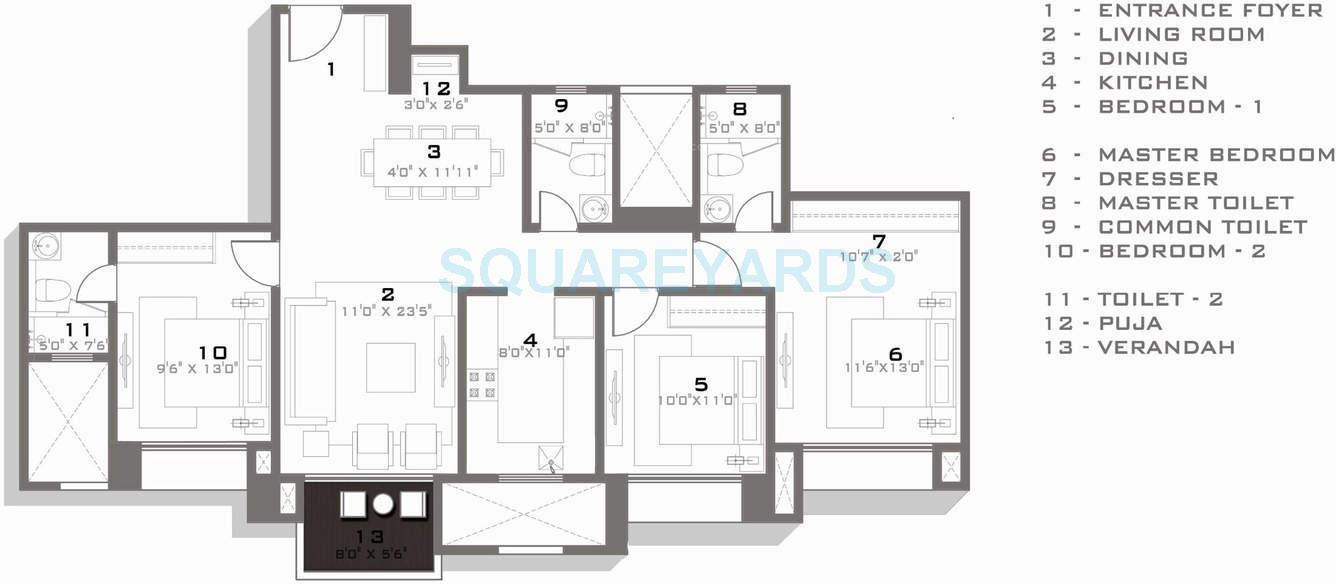 hiranandani amalfi apartment 3bhk 1525sqft1