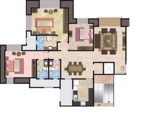 hiranandani brentwood apartment 3 bhk 1749sqft 20213126153118