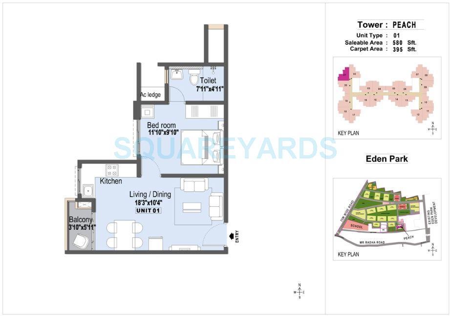 lnt eden park phase 2 apartment 1bhk 580sqft1