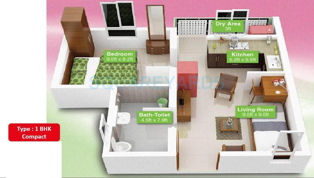 mahindra lifespaces happinest apartment 1 bhk 348sqft 20200830120846