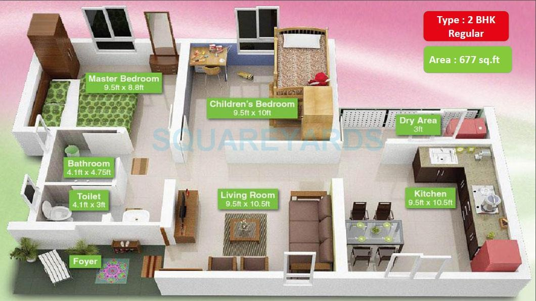 mahindra lifespaces happinest apartment 2 bhk 452sqft 20200930120932