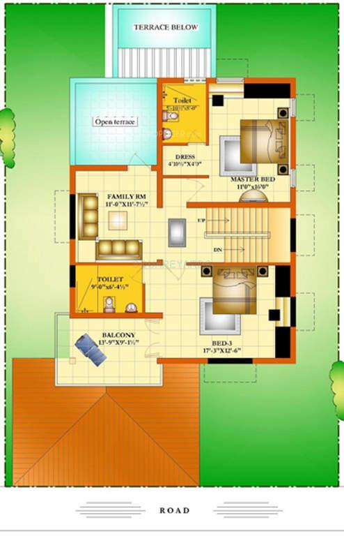 mahindra lifespaces sylvan county apartment 3bhk 2795sqft1