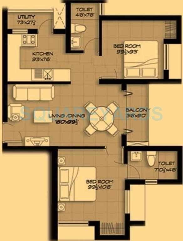 marg pushpadruma apartment 2bhk 898sqft1